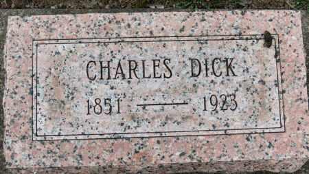 DICK, CHARLES - Erie County, Ohio | CHARLES DICK - Ohio Gravestone Photos
