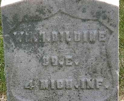 DILDINE, WM. - Erie County, Ohio | WM. DILDINE - Ohio Gravestone Photos