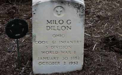 DILLON, MILO G. - Erie County, Ohio | MILO G. DILLON - Ohio Gravestone Photos