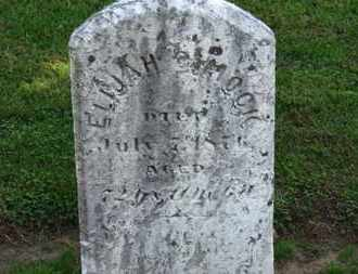 DIMOCK, ELIJAH - Erie County, Ohio | ELIJAH DIMOCK - Ohio Gravestone Photos