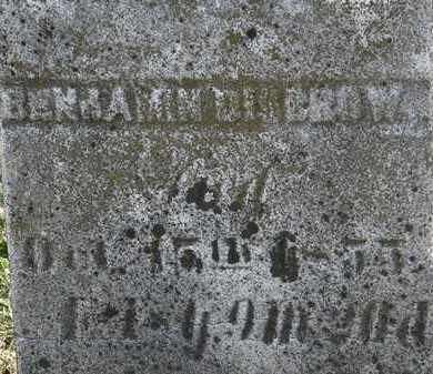 DISBROW, BENJAMIN - Erie County, Ohio | BENJAMIN DISBROW - Ohio Gravestone Photos