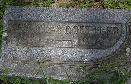 DOETTGER, NICKOLAS - Erie County, Ohio | NICKOLAS DOETTGER - Ohio Gravestone Photos