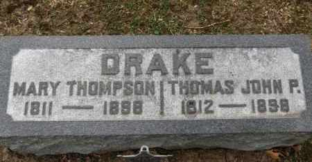 DRAKE, THOMAS JOHN P. - Erie County, Ohio | THOMAS JOHN P. DRAKE - Ohio Gravestone Photos