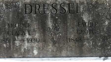 DRESSEL, GEORGE - Erie County, Ohio | GEORGE DRESSEL - Ohio Gravestone Photos