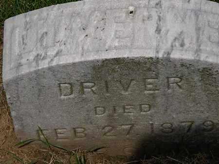 DRIVER, LUVERME - Erie County, Ohio | LUVERME DRIVER - Ohio Gravestone Photos