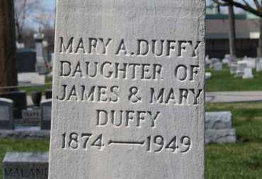 DUFFY, MARY A. - Erie County, Ohio | MARY A. DUFFY - Ohio Gravestone Photos