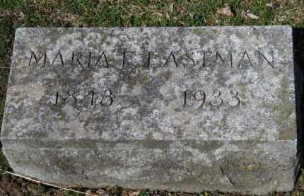 EASTMAN, MARIA F. - Erie County, Ohio | MARIA F. EASTMAN - Ohio Gravestone Photos