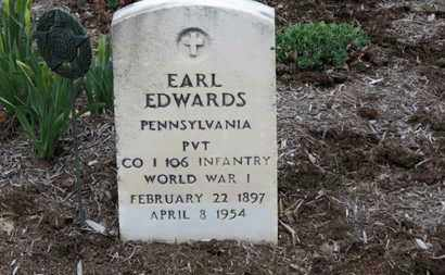 EDWARDS, EARL - Erie County, Ohio | EARL EDWARDS - Ohio Gravestone Photos