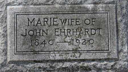 EHRHARDT, MARIE - Erie County, Ohio | MARIE EHRHARDT - Ohio Gravestone Photos