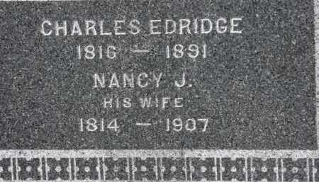 ELDRIDGE, NANCY J. - Erie County, Ohio | NANCY J. ELDRIDGE - Ohio Gravestone Photos