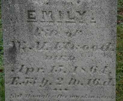 ELWOOD, EMILY - Erie County, Ohio | EMILY ELWOOD - Ohio Gravestone Photos