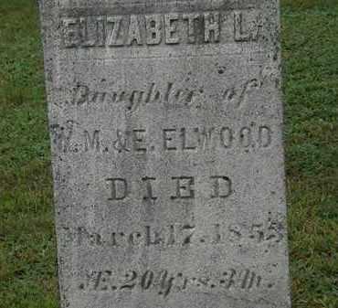 ELWOOD, ELIZABETH L. - Erie County, Ohio | ELIZABETH L. ELWOOD - Ohio Gravestone Photos