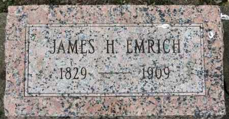EMRICH, JAMES H. - Erie County, Ohio | JAMES H. EMRICH - Ohio Gravestone Photos