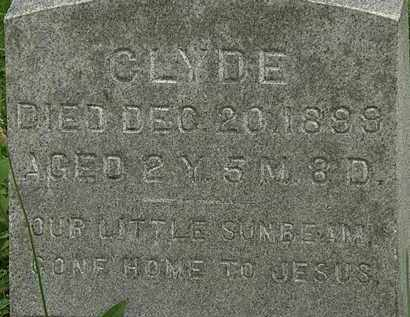 ENGLEBRY, CLYDE - Erie County, Ohio | CLYDE ENGLEBRY - Ohio Gravestone Photos
