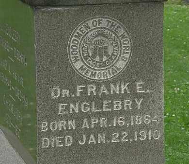 ENGLEBRY, FRANK E. - Erie County, Ohio | FRANK E. ENGLEBRY - Ohio Gravestone Photos
