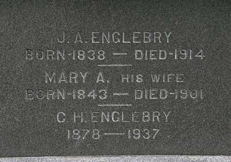 ENGLEBRY, MARY A. - Erie County, Ohio | MARY A. ENGLEBRY - Ohio Gravestone Photos