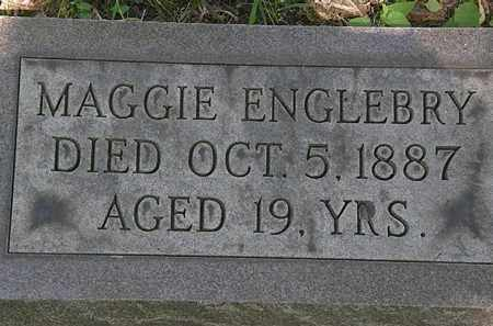 ENGLEBRY, MAGGIE - Erie County, Ohio | MAGGIE ENGLEBRY - Ohio Gravestone Photos