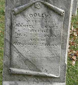 ENNES, DOLLY - Erie County, Ohio | DOLLY ENNES - Ohio Gravestone Photos