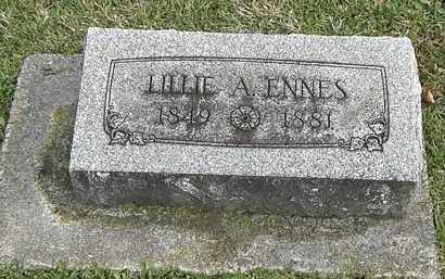 ENNES, LILLIE - Erie County, Ohio | LILLIE ENNES - Ohio Gravestone Photos