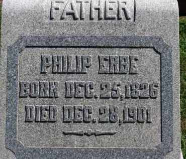 ERBE, PHILLIP - Erie County, Ohio | PHILLIP ERBE - Ohio Gravestone Photos