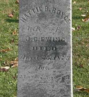 EWING, J. C. - Erie County, Ohio | J. C. EWING - Ohio Gravestone Photos