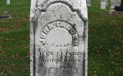 FALDER, JOHN - Erie County, Ohio | JOHN FALDER - Ohio Gravestone Photos