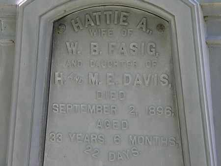 FASIG, W.B. - Erie County, Ohio | W.B. FASIG - Ohio Gravestone Photos