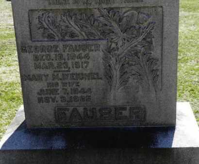 FAUSER, MARY M. - Erie County, Ohio | MARY M. FAUSER - Ohio Gravestone Photos