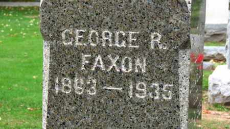 FAXON, GEORGE E. - Erie County, Ohio | GEORGE E. FAXON - Ohio Gravestone Photos