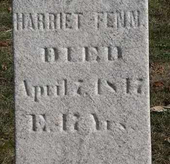 FENN, HARRIET - Erie County, Ohio | HARRIET FENN - Ohio Gravestone Photos