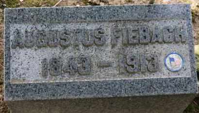 FIEBACH, AUGUSTUS - Erie County, Ohio | AUGUSTUS FIEBACH - Ohio Gravestone Photos