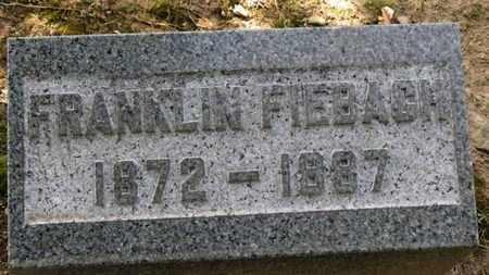 FIEBACH, FRANKLIN - Erie County, Ohio   FRANKLIN FIEBACH - Ohio Gravestone Photos
