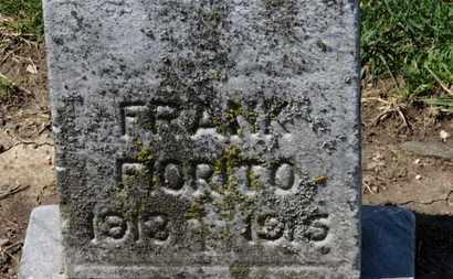 FIORITO, FRANK - Erie County, Ohio | FRANK FIORITO - Ohio Gravestone Photos