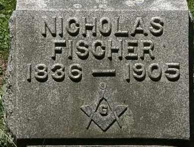 FISCHER, NICHOLAS - Erie County, Ohio | NICHOLAS FISCHER - Ohio Gravestone Photos
