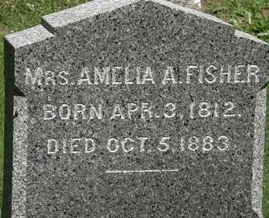 FISHER, AMELIA A. - Erie County, Ohio | AMELIA A. FISHER - Ohio Gravestone Photos