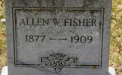 FISHER, ALLEN W. - Erie County, Ohio | ALLEN W. FISHER - Ohio Gravestone Photos