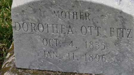 OTT FITZ, DOROTHEA - Erie County, Ohio | DOROTHEA OTT FITZ - Ohio Gravestone Photos