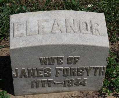 FORSYTH, ELEANOR - Erie County, Ohio | ELEANOR FORSYTH - Ohio Gravestone Photos