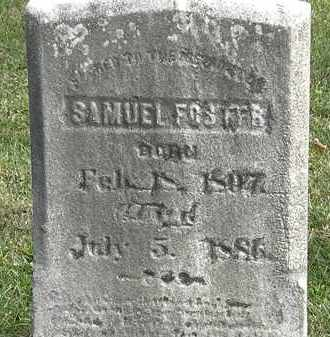 FOSTER, SAMUEL - Erie County, Ohio | SAMUEL FOSTER - Ohio Gravestone Photos