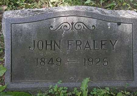 FRALEY, JOHN - Erie County, Ohio | JOHN FRALEY - Ohio Gravestone Photos