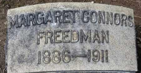 FREEDMAN, MARGARET - Erie County, Ohio | MARGARET FREEDMAN - Ohio Gravestone Photos