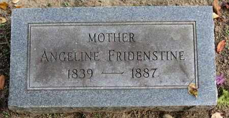 FRIDENSTINE, ANGELINE - Erie County, Ohio | ANGELINE FRIDENSTINE - Ohio Gravestone Photos