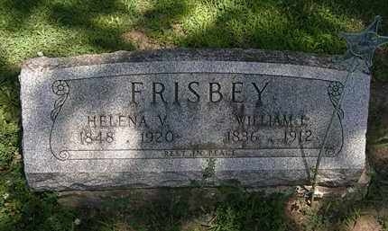 FRISBEY, WILLIAM I. - Erie County, Ohio | WILLIAM I. FRISBEY - Ohio Gravestone Photos
