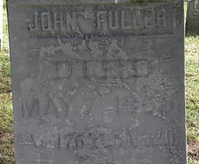 FULLER, JOHN - Erie County, Ohio | JOHN FULLER - Ohio Gravestone Photos