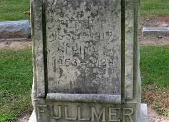 FULLMER, PETER E. - Erie County, Ohio | PETER E. FULLMER - Ohio Gravestone Photos