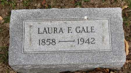GALE, LAURA F. - Erie County, Ohio | LAURA F. GALE - Ohio Gravestone Photos