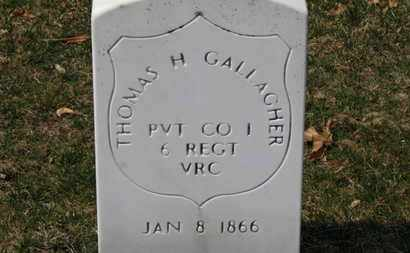 GALLAGHER, THOMAS H. - Erie County, Ohio | THOMAS H. GALLAGHER - Ohio Gravestone Photos