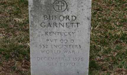 GARNETT, BUFORD - Erie County, Ohio | BUFORD GARNETT - Ohio Gravestone Photos