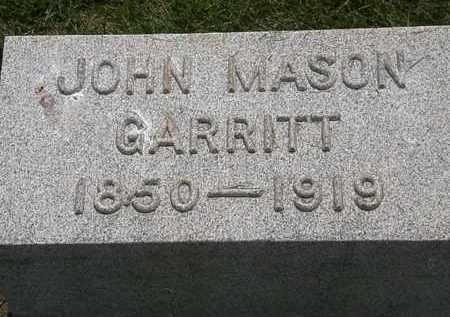 GARRITT, JOHN MASON - Erie County, Ohio | JOHN MASON GARRITT - Ohio Gravestone Photos