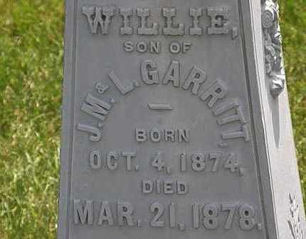 GARRITT, L. - Erie County, Ohio | L. GARRITT - Ohio Gravestone Photos
